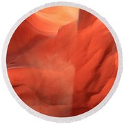 Sunlight Pouroff Round Beach Towel
