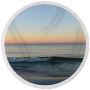 Sunrise On Alys Beach Round Beach Towel