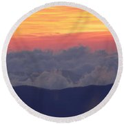Sunrise Over Clingmans Dome, Great Round Beach Towel
