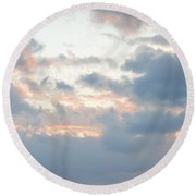 Suns Out Round Beach Towel