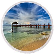 Sunscape Sabor Pier Round Beach Towel