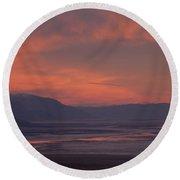 Sunset Death Valley Img 0277 Round Beach Towel