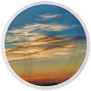 Sunsets Ca3459-13 Round Beach Towel