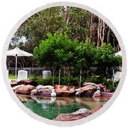 Sunshine Coast Round Beach Towel