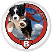 Super Berner Round Beach Towel