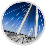 Supports Round Beach Towel