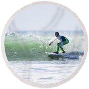 Surf Series 21 Round Beach Towel