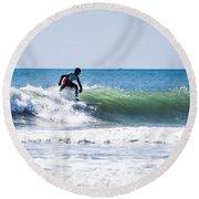 Surf Series 25 Round Beach Towel