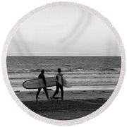 Surfers Round Beach Towel