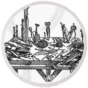 Surgical Instruments, 1567 Round Beach Towel