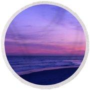 Surreal Sunset Round Beach Towel