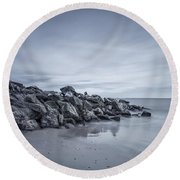 Surrender To The Sea Round Beach Towel