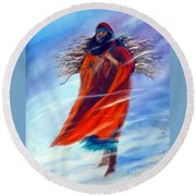 Surviving Another Day Round Beach Towel