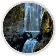 Susan Creek Falls Series 12 Round Beach Towel