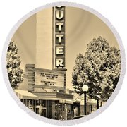 Sutter Theater Round Beach Towel