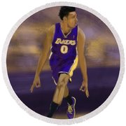 Swaggy 3 Round Beach Towel