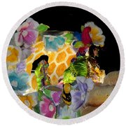 Sweet As Honey - Honey Bees Round Beach Towel