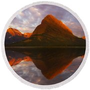 Swiftcurrent Reflection Round Beach Towel