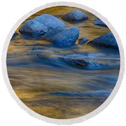Swiftriver Reflections Round Beach Towel