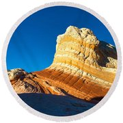 Swirl Round Beach Towel by Chad Dutson
