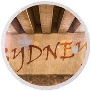 Sydney Round Beach Towel
