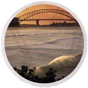 Sydney Surf Time Round Beach Towel