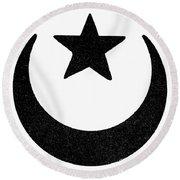 Symbol Islam Round Beach Towel