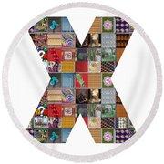 Symbol Xxx Yin Yang Showcasing Navinjoshi Gallery Art Icons Buy Faa Products Or Download For Self Pr Round Beach Towel