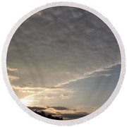 System Ceiling Round Beach Towel