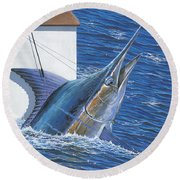 Tagged Off00105 Round Beach Towel