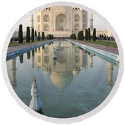 Taj Round Beach Towel