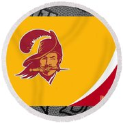 Tampa Bay Buccaneers Round Beach Towel