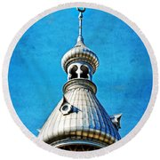 Tampa Beauty - University Of Tampa Photography By Sharon Cummings Round Beach Towel