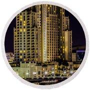 Embassy Suites Tampa Florida Round Beach Towel