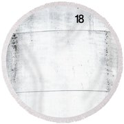 Tank Farm 02 Round Beach Towel
