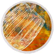 Taste The Rainbow Round Beach Towel