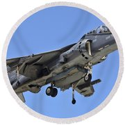 Tav 8b Harrier Jump Jet Round Beach Towel