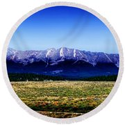 Taylor Park - Colorado Round Beach Towel