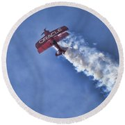 Team Oracle V9 Round Beach Towel