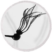 Tears Climb Too Round Beach Towel