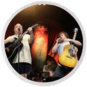 Tenacious D - Kyle Gas And Jack Black Round Beach Towel