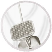 Tenderizer Round Beach Towel