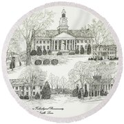 Tennessee Technological University Round Beach Towel