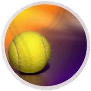Tennis Ball Round Beach Towel