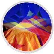 Tent Of Dreams Round Beach Towel