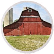 Ter-aine Farm Round Beach Towel