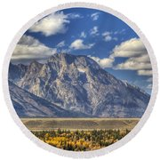 Teton Glory Round Beach Towel