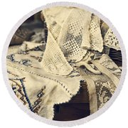 Textile Collection Round Beach Towel