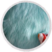 Textures 2 Round Beach Towel