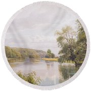 Thames Round Beach Towel